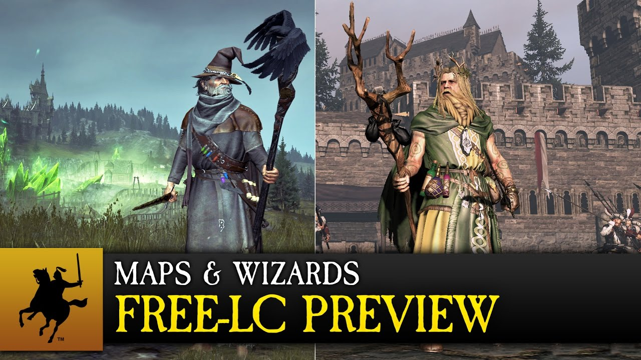 Total War: WARHAMMER - Maps & Wizards Free-LC Preview