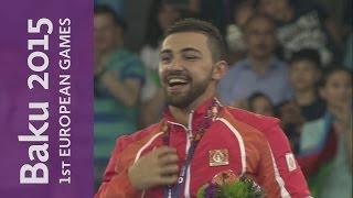 Aykhan Mamayev wins a home gold in the -84kg kumite | Karate | Baku 2015 European Games