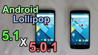 Android Lollipop 5.1 vs 5.0.1 - Performance Comparison (Nexus 5)