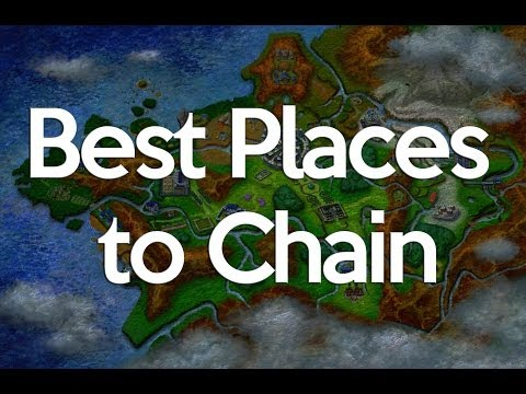 Pokemon X And Y Best Places To Chain Pokeradar