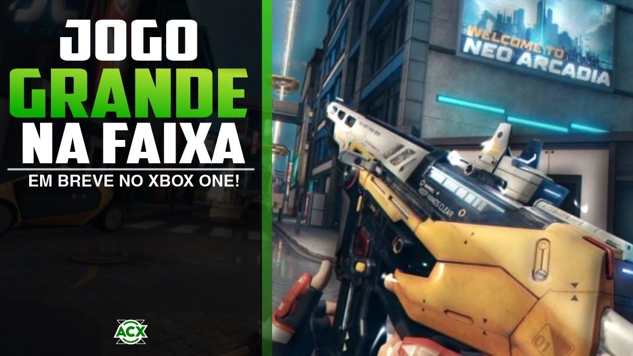Novo jogo grande e GRÁTIS pra SEMPRE no XBOX ONE vai chegar em breve!
