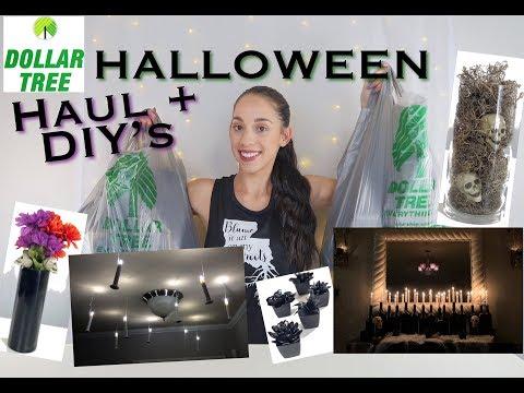 DIY PARTY DECOR HALLOWEEN *DOLLAR TREE HAUL*