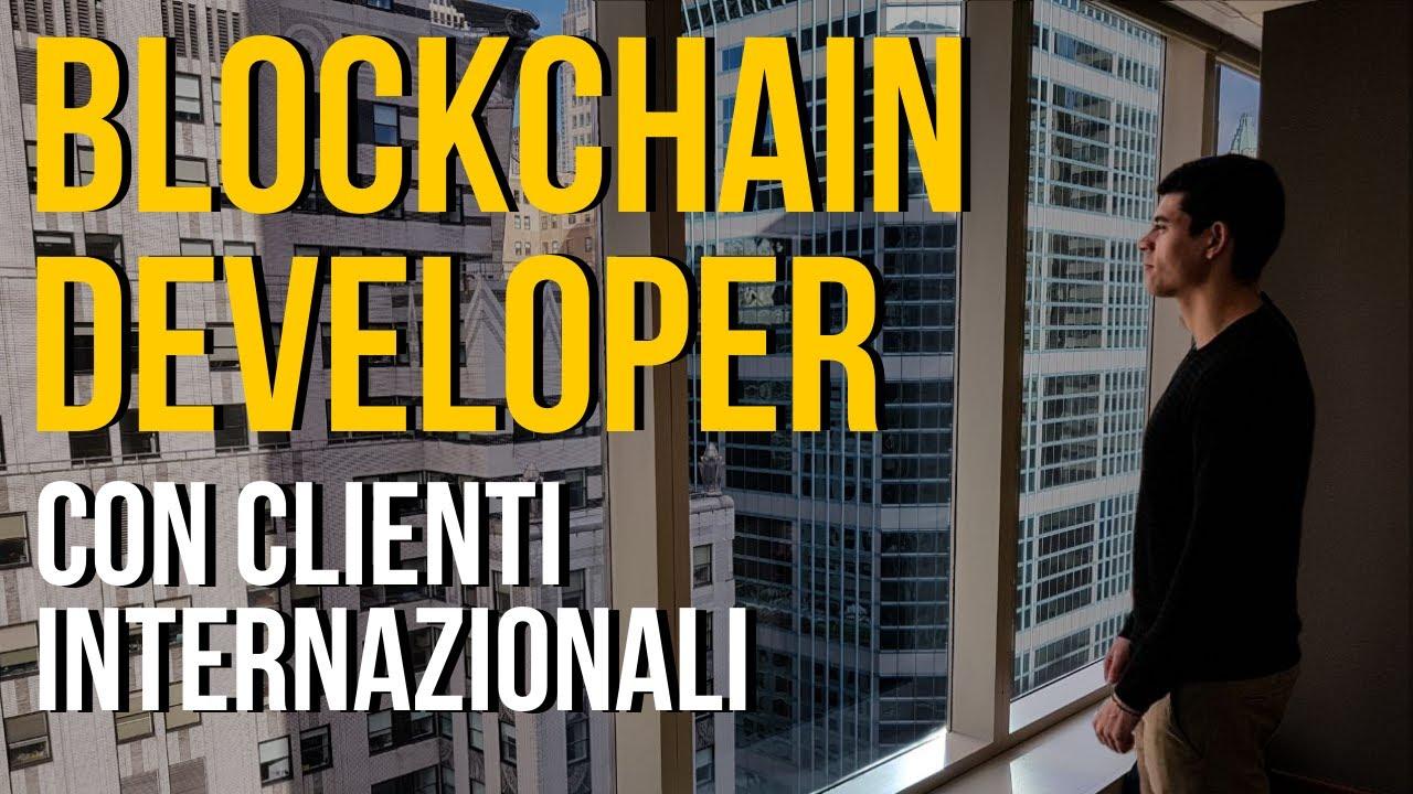 Come Diventare Blockchain Developer e Lavorare da Remoto | La Storia di Dario Moceri