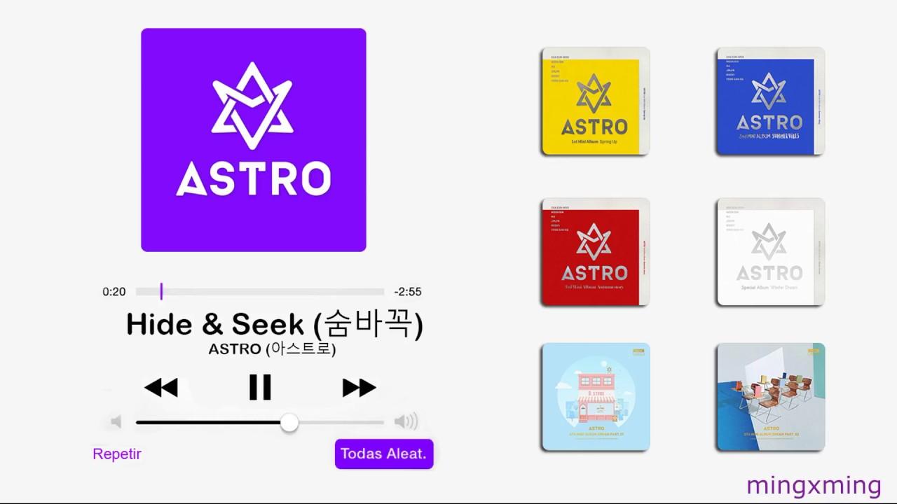ASTRO (아스트로) all 6 albums playlist