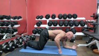 Упражнение планка / Фитнес Тренер - Ярослав Брин / Мотивация для похудения
