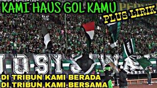 Kami Haus Goal Kamu | Live Chant Bonek Plus Lirik | Di Tribun Kami Bersama