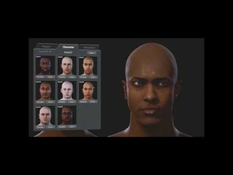 Star Citizen Character Customization | Early first iteration