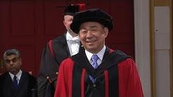 Vichai Srivaddhanaprabha - Honorary Degree - University of Leicester