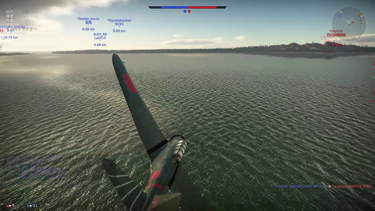 [War Thunder]97式艦攻で決死の雷撃! - YouTube