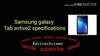 Samsung Galaxy Tab Active 2 Full Tablet Specifications And Features
