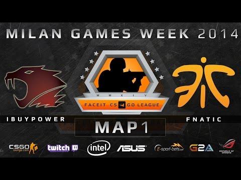 iBUYPOWER vs Fnatic - FACEIT LAN FINAL - Game 1