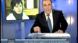 Repeat youtube video Sanda Lungu si Rosia Montana - Ora de business cu Moise Guran