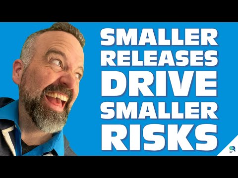 Tanzu Talk: Better software, lower risk, with smaller, more frequent releases