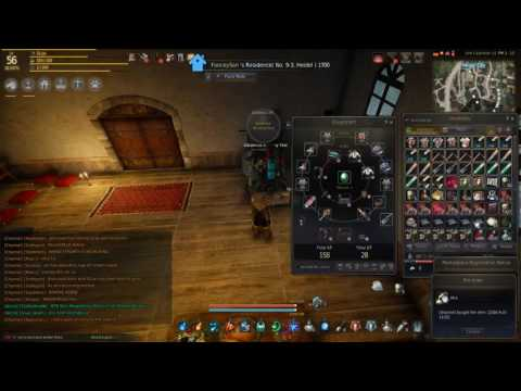Black Desert Online Fast AFK contribution and silver using Alchemy 1080p