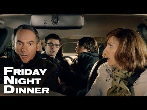 Crashing Into The Mercedes    Friday Night Dinner