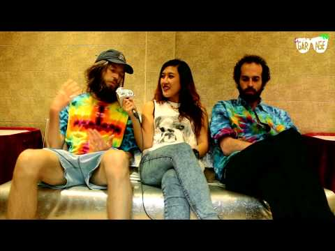   Bailamos con Crystal Fighters   Interview   Le Garage Tv  