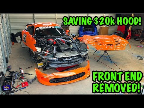 Rebuilding A Wrecked 2014 Dodge Viper TA TIME ATTACK PART 4