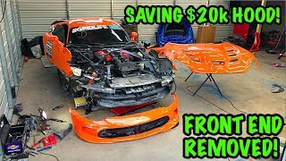 "Rebuilding A Wrecked 2014 Dodge Viper TA ""TIME ATTACK"" PART 4"
