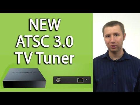New ATSC 3.0 TV Tuner Box - HDHomerun Quatro By Silicon Dust