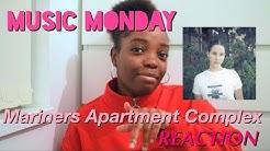 Music Monday   Lana Del Rey Mariners Apartment Complex single   REACTION