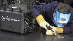 Flux Core Welder - Beginner Welding Without Shielding Gas - Affordable Flux Core Welding At Home