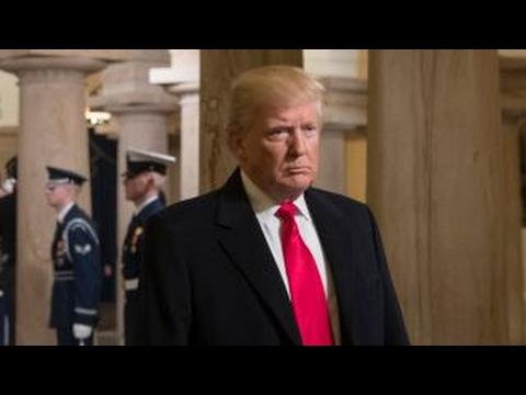 Did the Syrian airstrike hurt Trump politically?