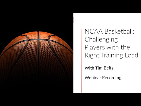 Challenging Players with the Right Training Load w/ Tim Beltz | Firstbeat Sports Webinar