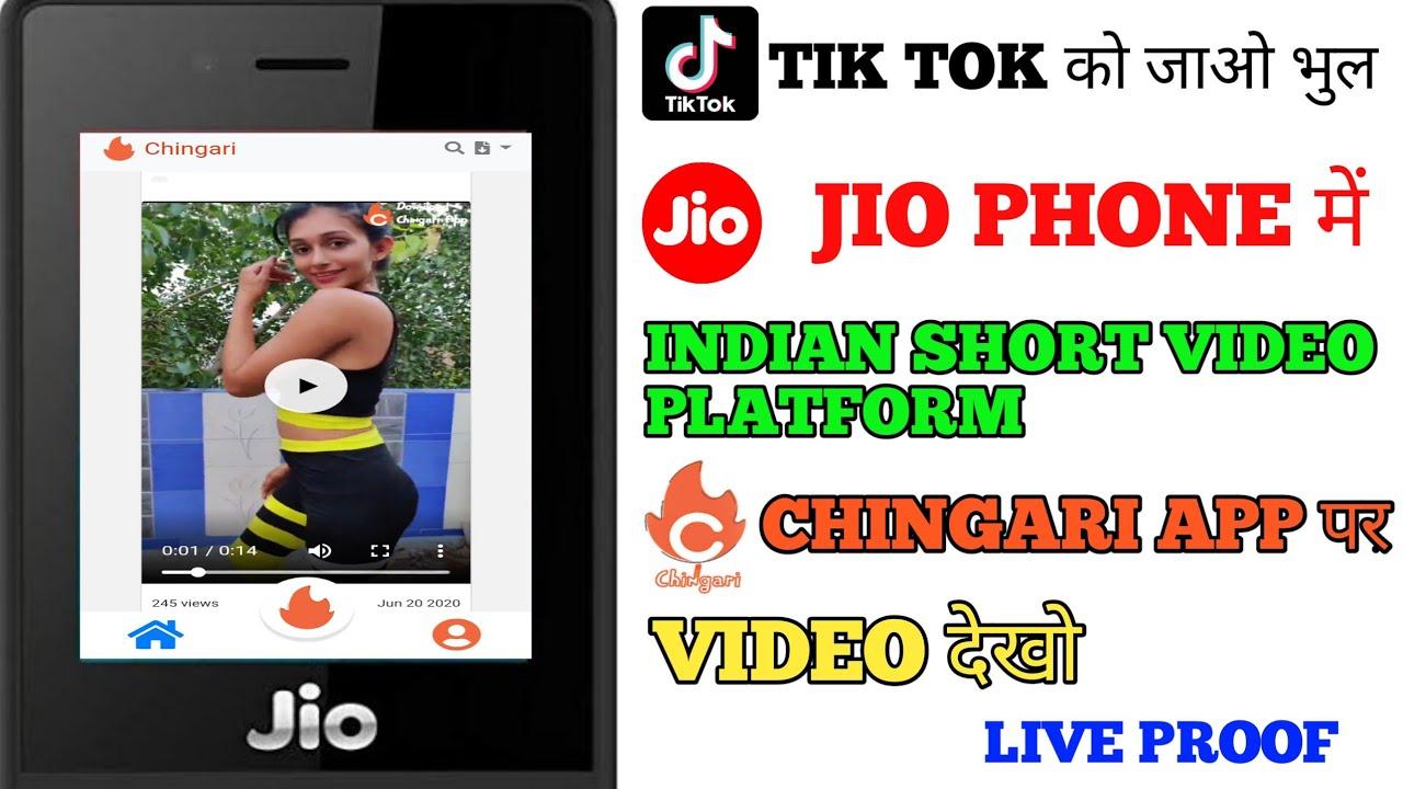 Download Jio Phone Me Chingari App Kaise Chalaye. Jio Phone New Update Today.How to use Chingari in jio phone