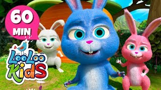 Sleeping Bunnies - Super Educational Songs for Children | LooLoo Kids