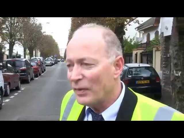 Vidéo Le dispositif de ramassage des feuilles mortes à Saint-Maur
