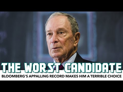 Michael Bloomberg's Appalling Record Makes Him A Terrible Candidate