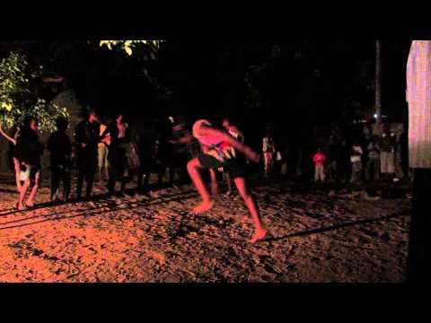 Mozambican Traditional Dancing