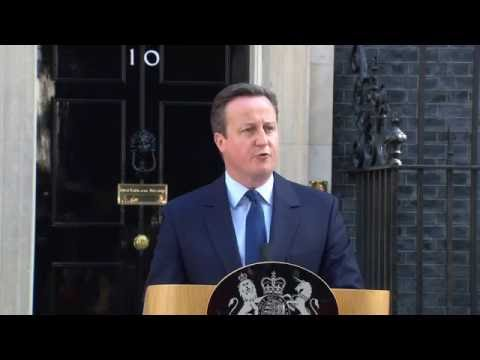 David Cameron Announces Resignation As Prime Minister