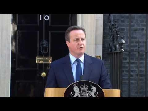 David Cameron Announces Resignation As Prime Minister