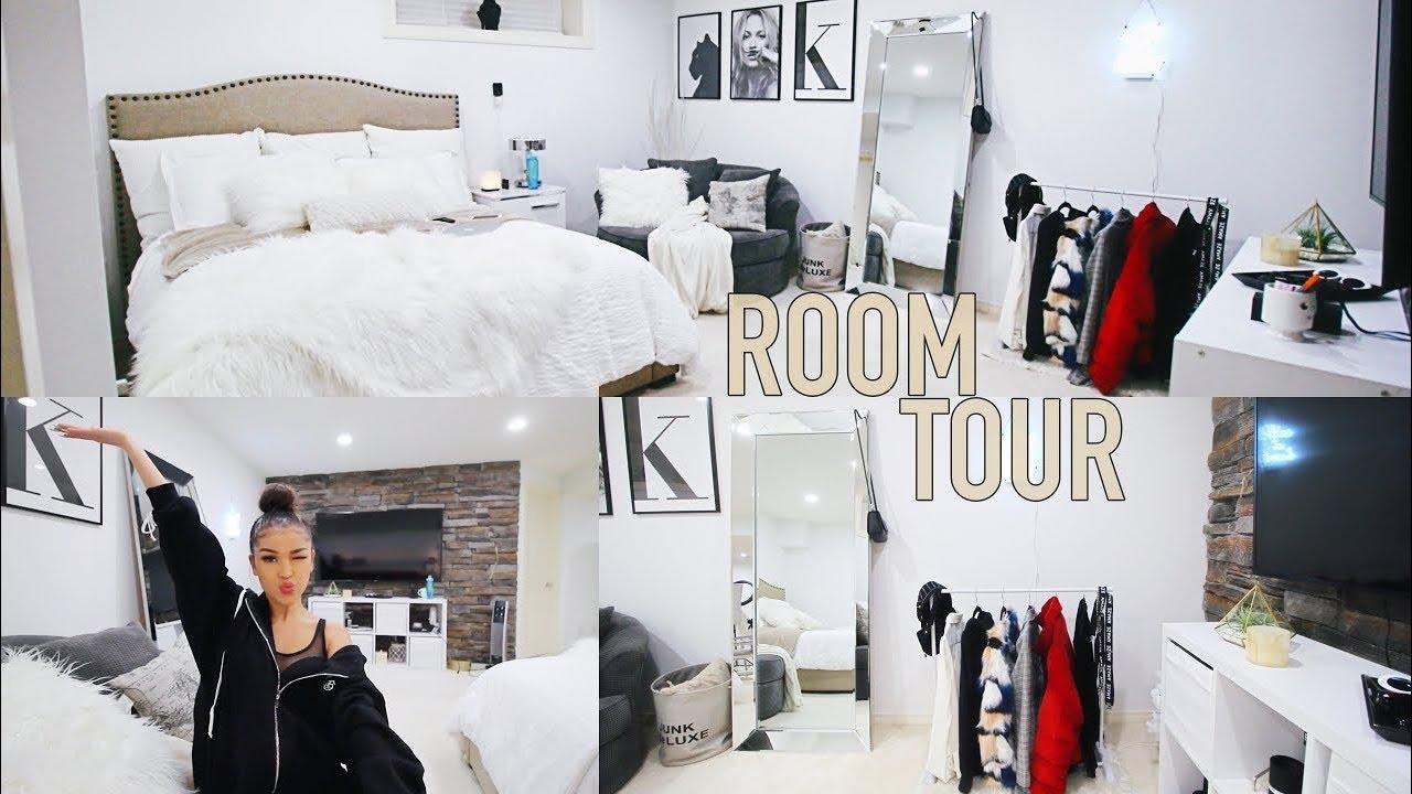 extreme bedroom transformation tour �� koleen diaz youtube