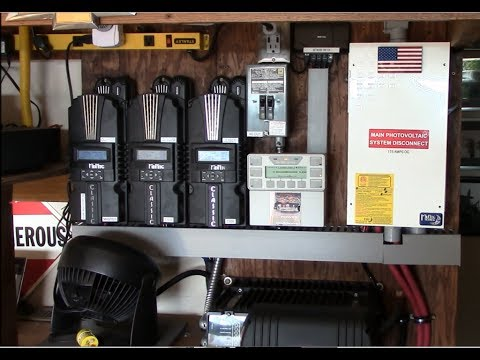 Home solar system(s) overview – DIY home solar (four operational off grid systems)