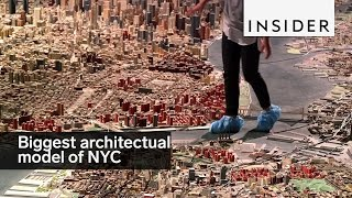 This scale model of NYC is the biggest in the world
