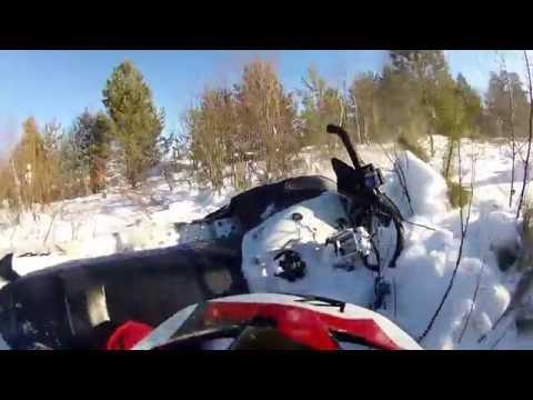 Yamaha RX-1 MTX 162, 2 Arctic Cat M 8000 and  BRP Ski-Doo Tundra LT-550. Часть первая.