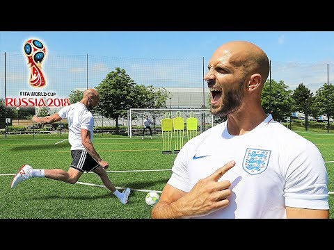 THE ENGLAND WORLD CUP FOOTBALL CHALLENGE!