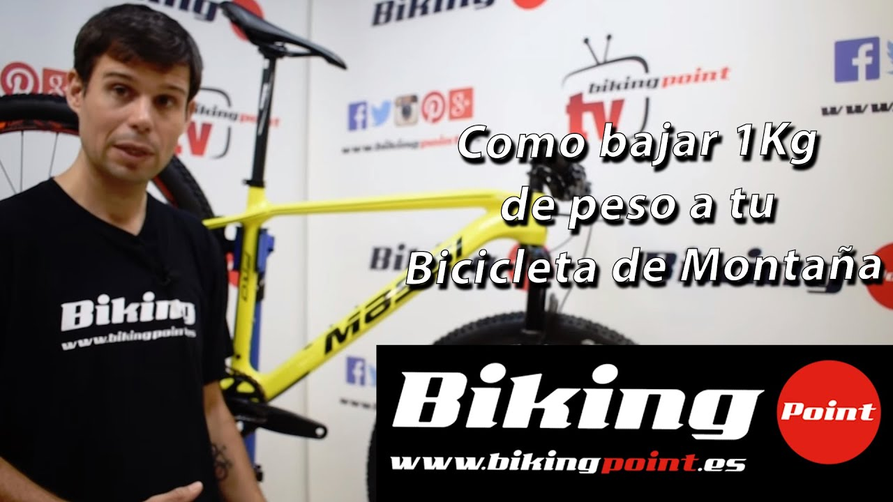 Como bajar de peso la bicicleta