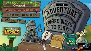 Как быстро и легко заработать  много денег в Plants VS Zombie (растения против зомби)