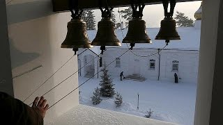 Orthodoxe Christen beginnen Weihnachtsfeierlichkeiten