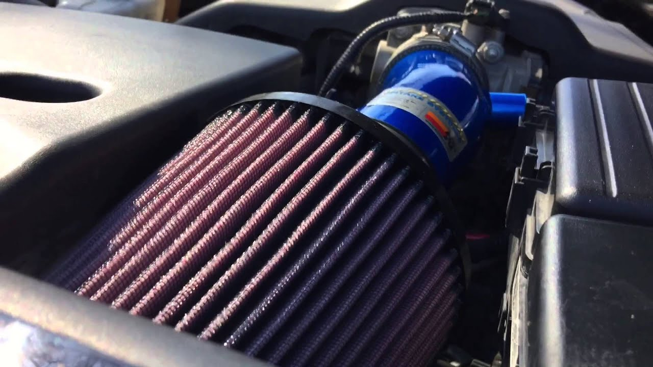 Acura TL KN Performance Intake System Short Ram YouTube - 2006 acura tl intake