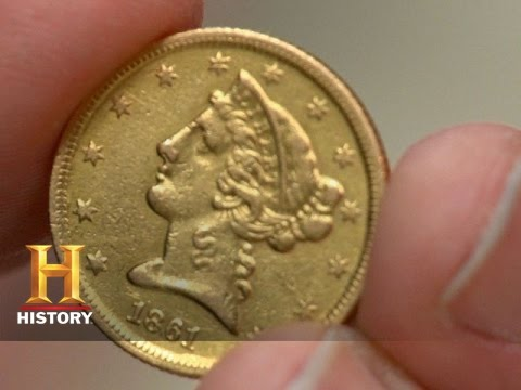 Pawn Stars 1861 Half Eagle Coin History Youtube
