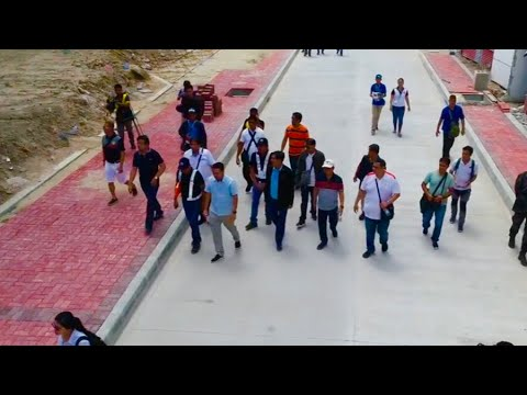 The Visit of Sec. Villar and Sec Cimatu (DPWH) (DENR)