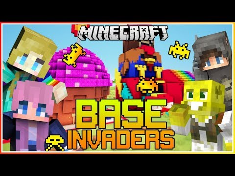 My Best Invading YET!! | Minecraft Base Invaders