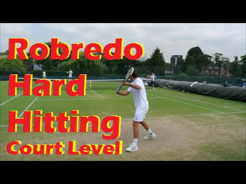 Tennis Pro Training | Tommy Robredo 2014 Practice | Heavy Hitting