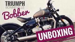 TRIUMPH Bobber | Unboxing + Walkaround + Soundcheck