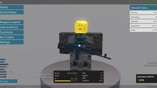 ROBLOX Phantom Forces/Reset my account and started from scratch!