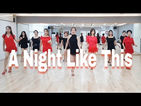 A Night Like This-Line Dance (Improver Cha Cha ) 윤 은희 (Eun Hee Yoon
